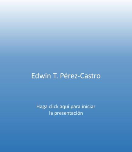 Edwin T. Pérez-Castro